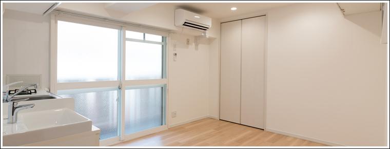 新築マンションの一室